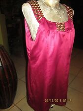 ECI-New York>Size 10>Nice A-Line Dress>Braes Studs On Strapes&Front