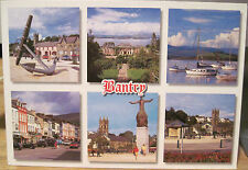 Irish Postcard BANTRY Bay West Cork Ireland Multiview Six Views O'Toole Hinde