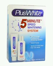 Plus White 5 Minute Bleach Whitening & Brightening Teeth Gel Kit System Original