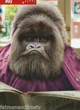 Grumpy Gorilla Barbers Chair Haircut FATHERS DAY CARD New