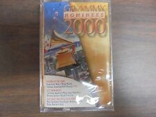 "NEW SEALED ""Grammy Nominees 2000 Cassette Tape (G)"