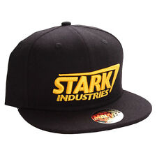 STARK INDUSTRIES IRON MAN OFFICIAL MARVEL AVENGERS SNAPBACK CAP HAT