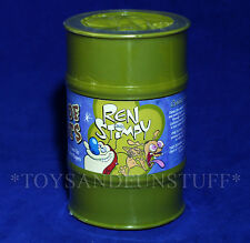 NEW Ren & Stimpy DRUM OF EEDIOTS Super Toxic BARREL MONKEYS Sababa Toys SPIKE TV