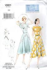 Schnittmuster Kleid 1940 (8811); Gr.38-44