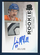 COLIN MCDONAL 09-10 UD THE CUP ROOKIE 2009-10 NO 175  /249 PATCH AUTO NICE  5367