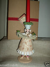 PATIENCE BREWSTER KRINKLES PORTA CANDELE CANDLE HOLDER CHRISTMAS FAIRY TAPER