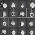 Personalize English Family Love Letter Necklace Simple Pendant Family Gift New