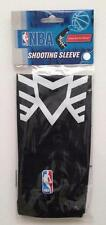 NEW Baller NBA Basketball SHOOTING ARM SLEEVE Band * BLACK w/ WHITE Design