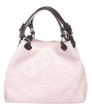 Massimo Castelli Rose Swirl Leather  Hobo  Bag  NWT