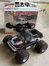 Custom Kyosho USA-1 Radio Controlled 4WD Nitro Crusher Monster Truck