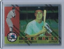 1996 Topps Mantle Finest MICKEY MANTLE #10 (1960 Topps)  (B2142)