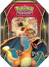 Tin Charizard EX 2016 Pokemon TCG with 4 Booster Packs Trading Card Game