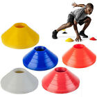10x Football Rugby Sport Cross Training Space Marker Soccer Cone Saucer TBUS