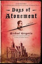 Days of Atonement: A Mystery-ExLibrary