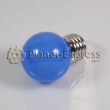 Bombilla 1W LED E27 Azul 220V 90 lumen Decoración, ambiente, jardin... SMD 3014