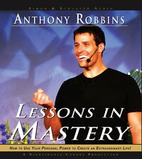 NEW 6 CD Lessons in Mastery Anthony Tony Robbins nlp (Nightingale Conant)