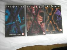 13 video cassettes of The X Files
