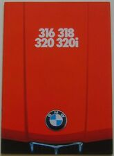BMW 3 Series 316 318 320 323i E21 1978-79 Original UK Sales Brochure 811030420