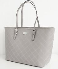 Original Michael Kors Tasche/Bag Jet Set Travel LG Carryall Tote Pearl Grey  NEU