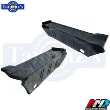 70-74 Dodge Dart Trunk Floor Extension Drop Off - Pair AMD New