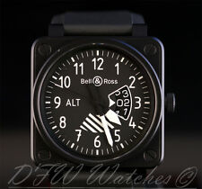 Bell & Ross BR 01 Altimeter PVD Limited Edition Black