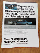 1965 Buick LeSabre Ad  We Prove a Car's Heater The Only Sensible Way