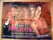 UK Quad Poster- DR JEKYLL AND MS HYDE by Sean Young(apx.30 x 40 inch; Org, Exc*)