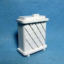 Dollhouse Miniature Laundry Clothes Hamper ~ Wood  D6872