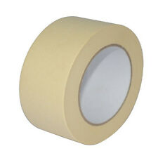 "1X roll MASKING Tape 50mm 2"" x 50m STRONG painting decoratorts art kraft painter"