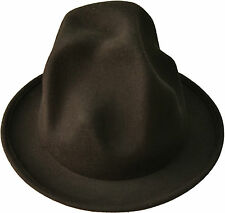 Mountain hat Odd en forme de chapeau - 100% laine fait main-Pharrell williams style chapeau