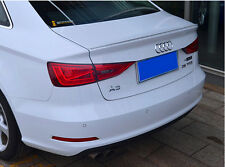 AUDI A3 S3 8V Saloon 4D 2014-2016 REAR Boot Spoiler lip wing UK Seller