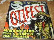 BLACK SABBATH STICKER COLLECTiBLE RARE VINTAGE 90'S OZZY MACHINE HEAD TYPE O