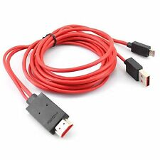 2M Micro USB to HDMI MHL Cable Adapter Full HD 1080P for HDTV Mobile Phone