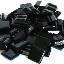 203 Vitreous Mosaic Tiles 10mm - Black