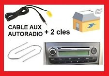 Cable aux 6 pin pour MP3 iphone ipod sur autoradio FIAT grande punto 2 de 2006