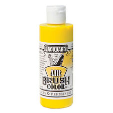 Jacquard Air Brush Colours Paint for Shoes / Sneakers - Transparent Yellow - 4oz