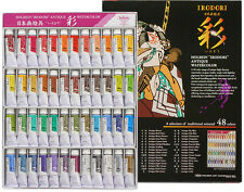 HOLBEIN 48 colors Japanese Antique watercolor tube all colors full 15ml IRODORI