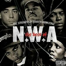 "N.W.A. ""THE STRENGTH OF STREET KNOWLEDGE"" CD NEUWARE"
