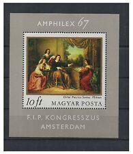 """Ungarn 1967 postfris MiNr. Block 58A   Int. Briefmarkenausstellung """"AMPHILEX 67"""""""