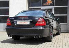Ulter Duplex Sportauspuff Mercedes E-Klasse W211 01- 2x220x80mm oval