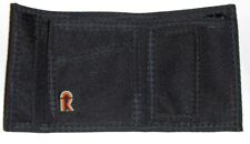 RFID Protected Nylon Billfold Wallet with Coin Pocket - Black - NEW