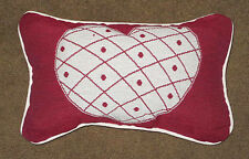 Heart and Soul ~ Happy Valentine's Day Tapestry Word Pillow