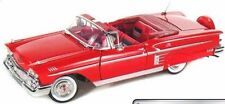 1/24 Scale, Chevrolet Impala 1958 - Red Motormax. Diecast metal Model Car Fast d