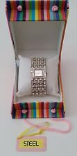 Ladies Art Deco crystal Watch/Bracelet by the brand STEEL