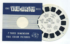 Palace of Versailles France 1950 Belgium-made Sawyer's ViewMaster Reel 1410