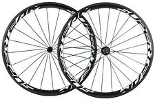 Superteam 700C 38mm Carbon Wheelset Road Bike Wheels Touring Carbon Full Wheels