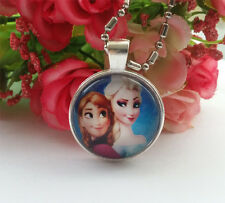 Baby Girl Kids Princess pendants necklace Jewelry for birthday