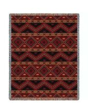 "Mesilla Throw Blanket  70"" x 54"" 100% Cotton Afghan Highest Quality !"
