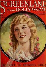 SCREENLAND TV-LAND MAGAZNE 1920-1960 films Hollywood movie cinema 100 ISSUES DVD
