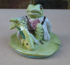 ROYAL DOULTON BESWICK Beatrix Potter Figurine - Jeremy Fisher Catches a Fish